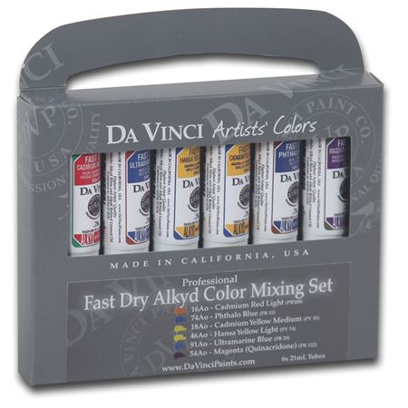 0009 Alkyd Fast Dry Mixing Set